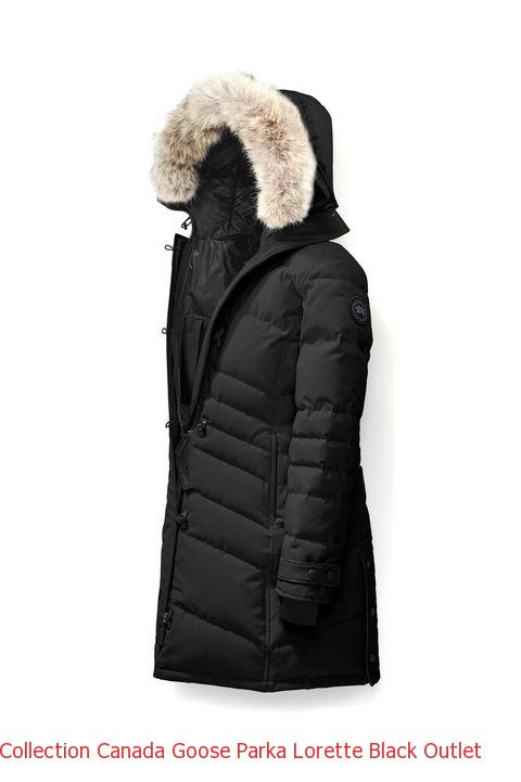 Collection Canada Goose Parka Lorette Black Outlet