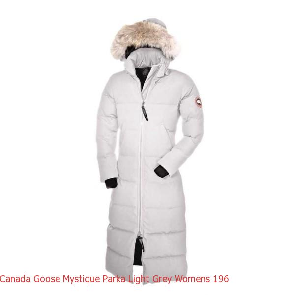 c62ed8a62 Best Alternative To Canada Goose Jacket Canada Goose Mystique Parka Light  Grey Women\'s