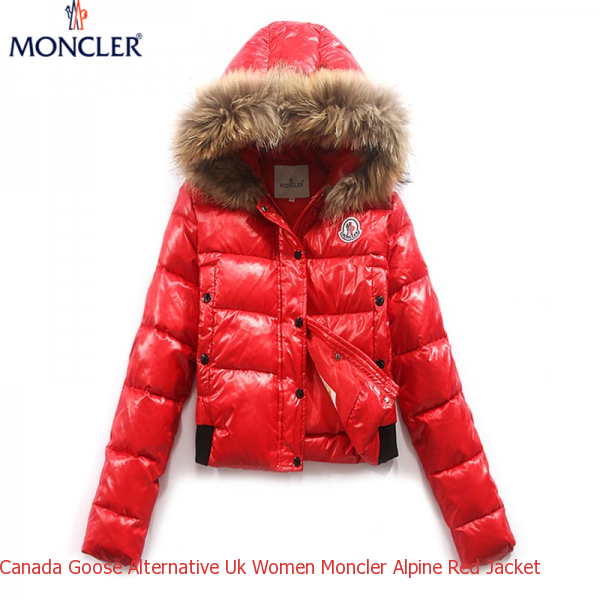 2b952af39 Canada Goose Alternative Uk Women Moncler Alpine Red Jacket