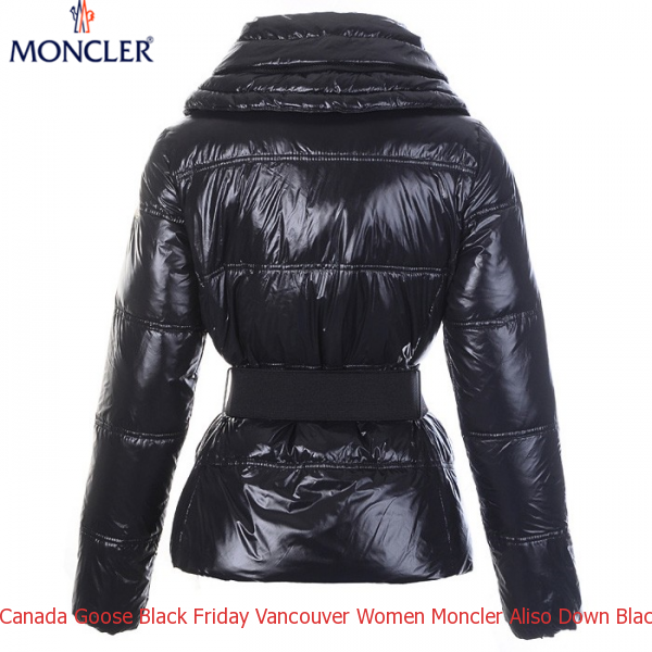 Canada Goose Black Friday Vancouver Women Moncler Aliso Down Black Jacket