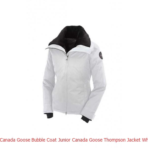 Canada Goose Bubble Coat Junior Canada Goose Thompson Jacket White For Women 50b03c968b41