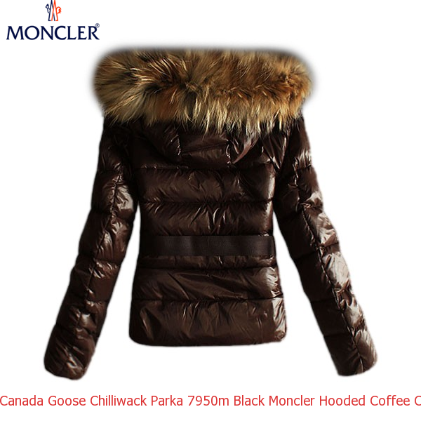 f1681951e0b2 Canada Goose Chilliwack Parka 7950m Black Moncler Hooded Coffee Coat ...