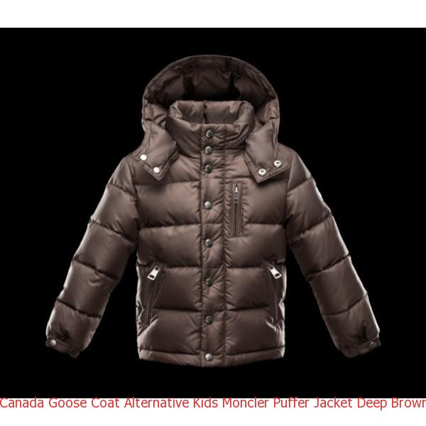 f21def4850bac Canada Goose Coat Alternative Kids Moncler Puffer Jacket Deep Brown – Shop  canada goose montebello parka online store