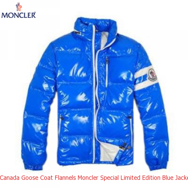 07bb51ad36be Canada Goose Coat Flannels Moncler Special Limited Edition Blue ...