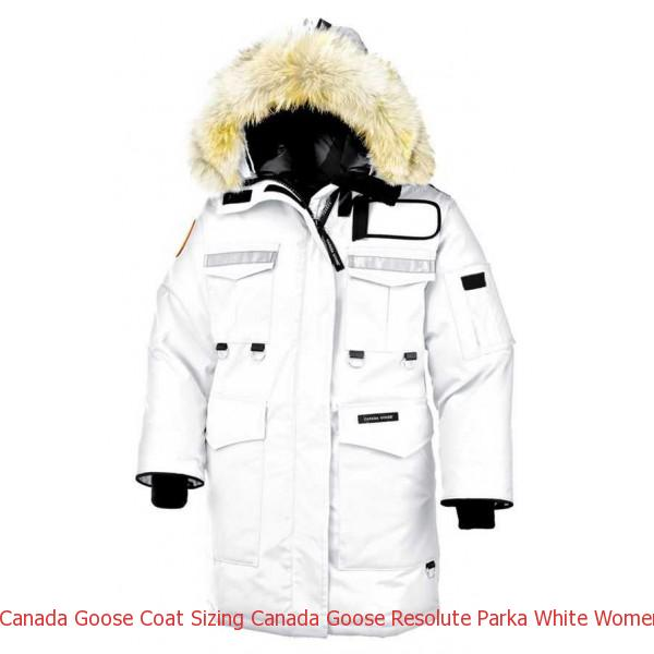 c0500f79e0d Canada Goose Coat Sizing Canada Goose Resolute Parka White Women\'s On Sale