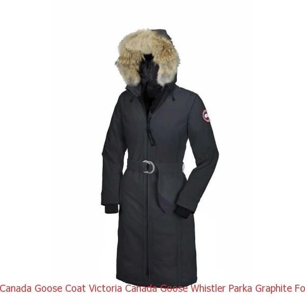 15350eda321 Canada Goose Coat Victoria Canada Goose Whistler Parka Graphite For Women
