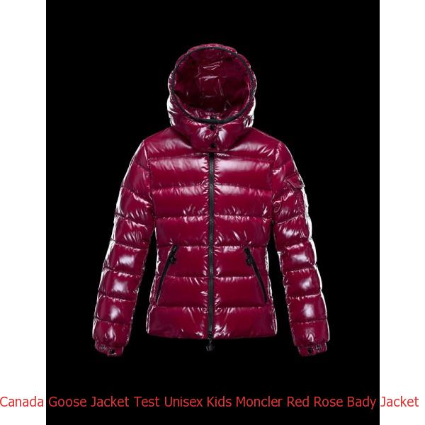 f478477f6 Canada Goose Jacket Test Unisex Kids Moncler Red Rose Bady Jacket ...