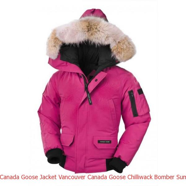 d766df3cd9fe1 Canada Goose Jacket Vancouver Canada Goose Chilliwack Bomber Summit Pink  Youth s For Sale