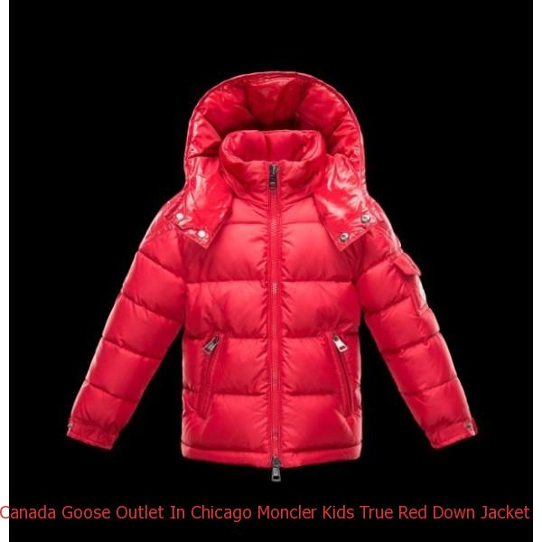 062c82294 Canada Goose Outlet In Chicago Moncler Kids True Red Down Jacket ...