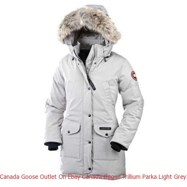 385c83c5496 Canada Goose Outlet On Ebay Canada Goose Trillium Parka Light Grey For Women
