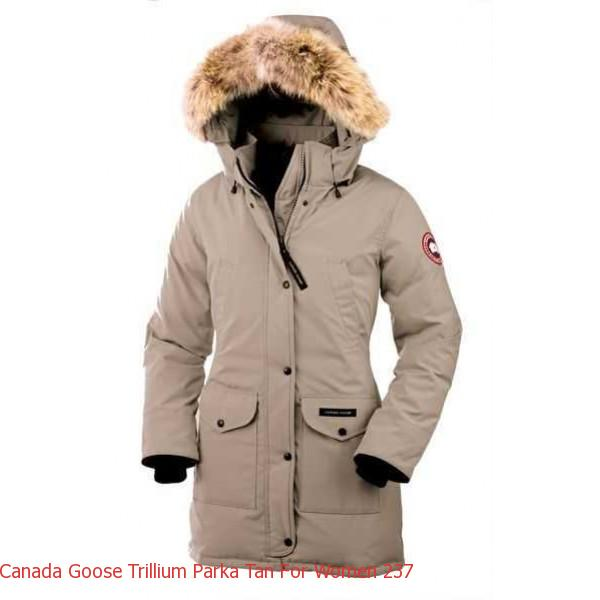 Canada Goose Outlet Winnipeg Address Canada Goose Trillium Parka Tan For Women