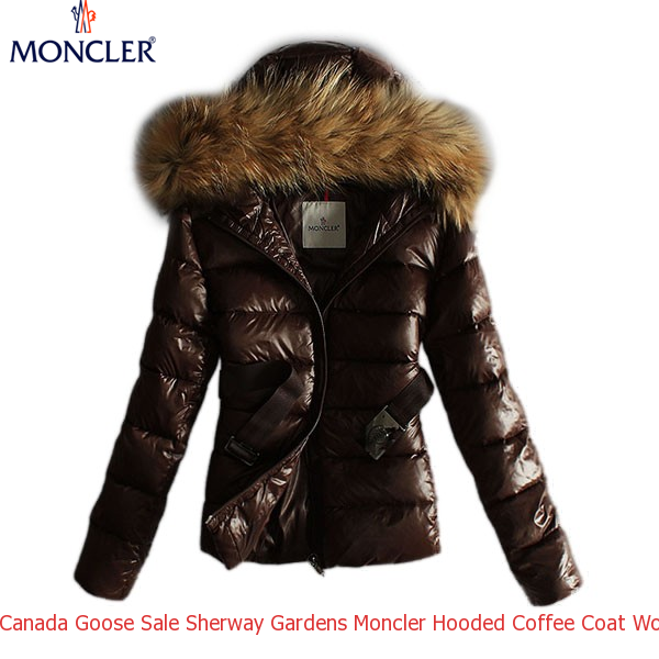 4f2c8bac8ee0 Canada Goose Sale Sherway Gardens Moncler Hooded Coffee Coat Women ...
