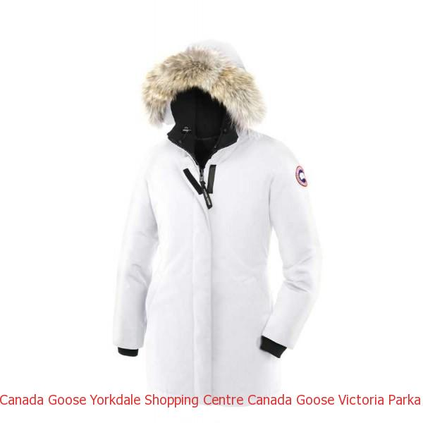 668fc82f7cc4 Canada Goose Yorkdale Shopping Centre Canada Goose Victoria Parka White For  Women