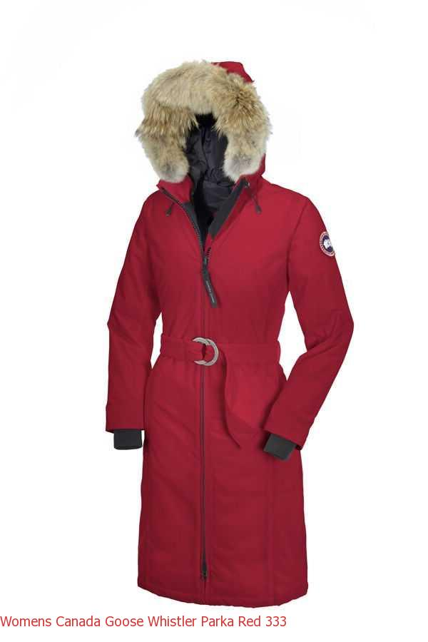 Canada Goose Macmillan Parka Black Label Women  s Canada Goose Whistler  Parka Red c941b7c8b7