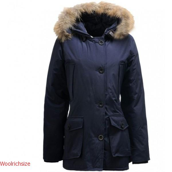 2018 Canada Goose Outlet Woolrich Arctic Parka Jacket In Blue Hot Sale 9b852453d20c