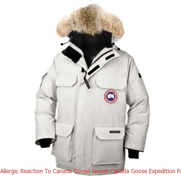 eb2b8680a2c5 Allergic Reaction To Canada Goose Jacket Canada Goose Expedition Parka  Light Grey Men s Coat