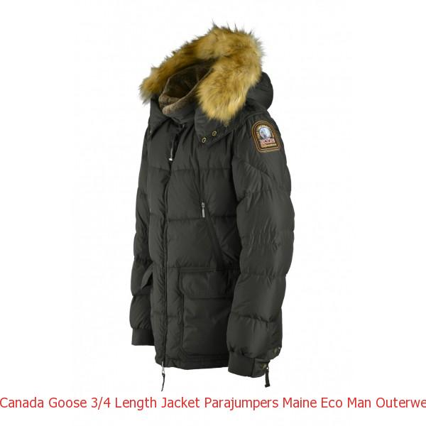 Canada Goose 3/4 Length Jacket Parajumpers Maine Eco Man Outerwear Sage