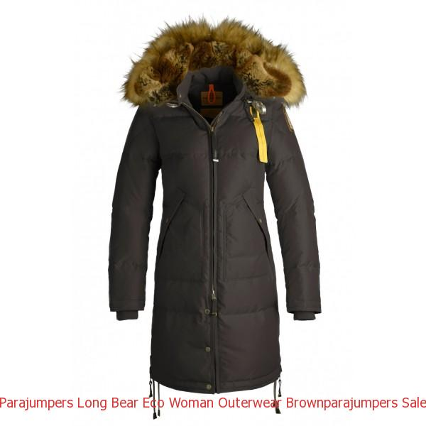 Canada Goose Black Friday Canada Parajumpers Long Bear Eco Woman Outerwear Brown