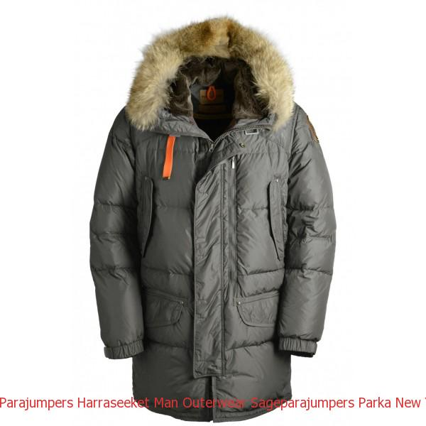Canada Goose Carson Parka Graphite Parajumpers Harraseeket Man Outerwear Sage
