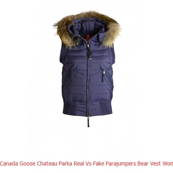 Canada Goose Chateau Parka Real Vs Fake Parajumpers Bear Vest Woman Outerwear Prussian Blue