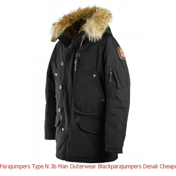Canada Goose Outlet Gta Parajumpers Type N 3b Man Outerwear Black
