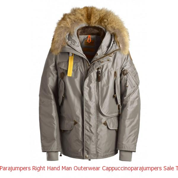 Canada Goose Outlet Herren Parajumpers Right Hand Man Outerwear Cappuccino