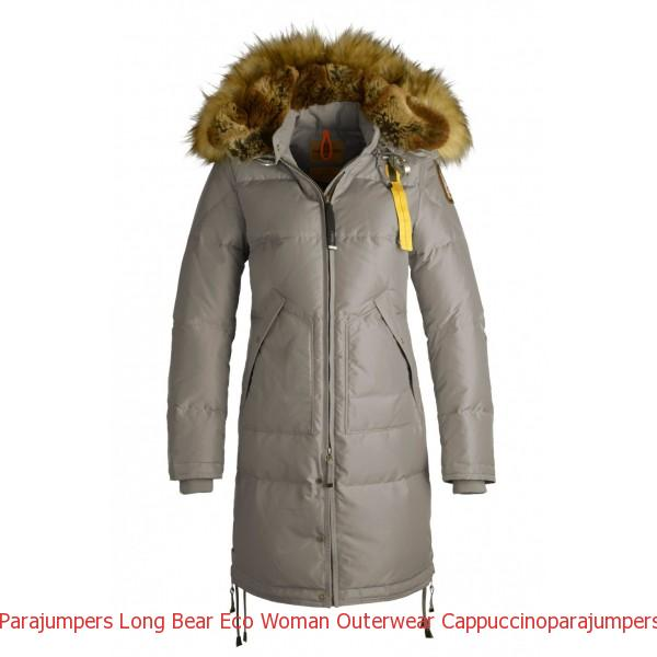 Canada Goose Sale Boxing Day Parajumpers Long Bear Eco Woman Outerwear Cappuccino