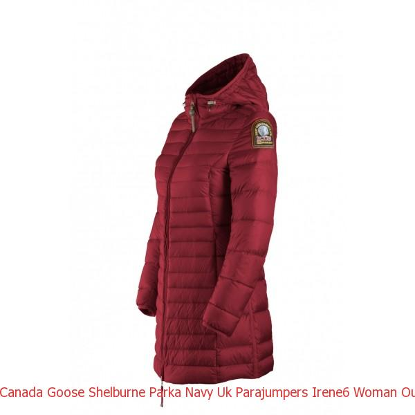 Canada Goose Shelburne Parka Navy Uk Parajumpers Irene6 Woman Outerwear Red