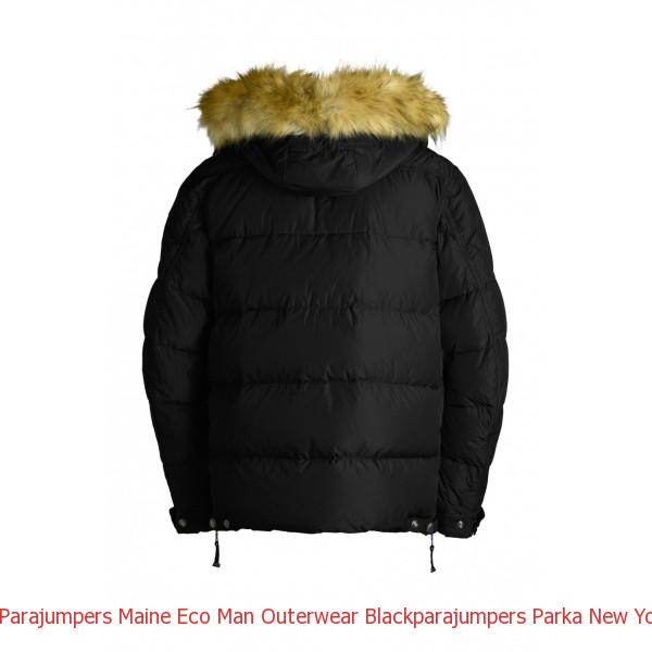 Canada Goose Uk Gloves Parajumpers Maine Eco Man Outerwear Black