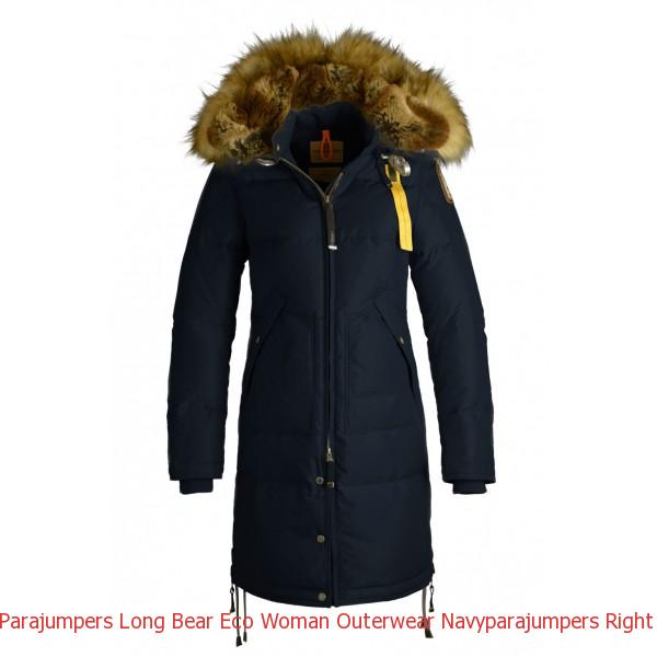 low priced 7ec62 a0574 Canada Goose Uk Online Shop Parajumpers LONG BEAR ECO Woman Outerwear Navy