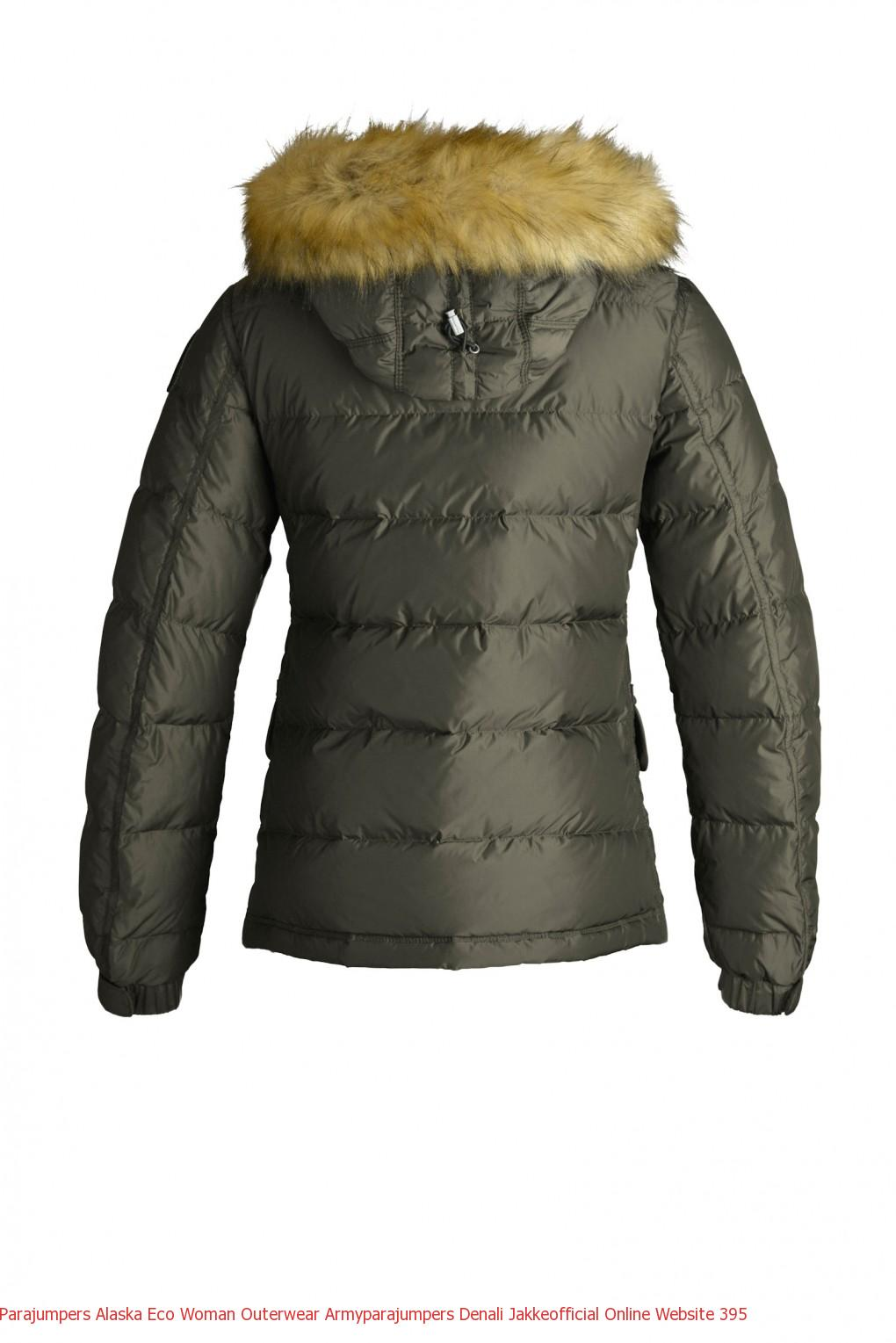 Parajumpers Alaska Eco Woman Outerwear Armyparajumpers Denali Jakkeofficial Online Website 396