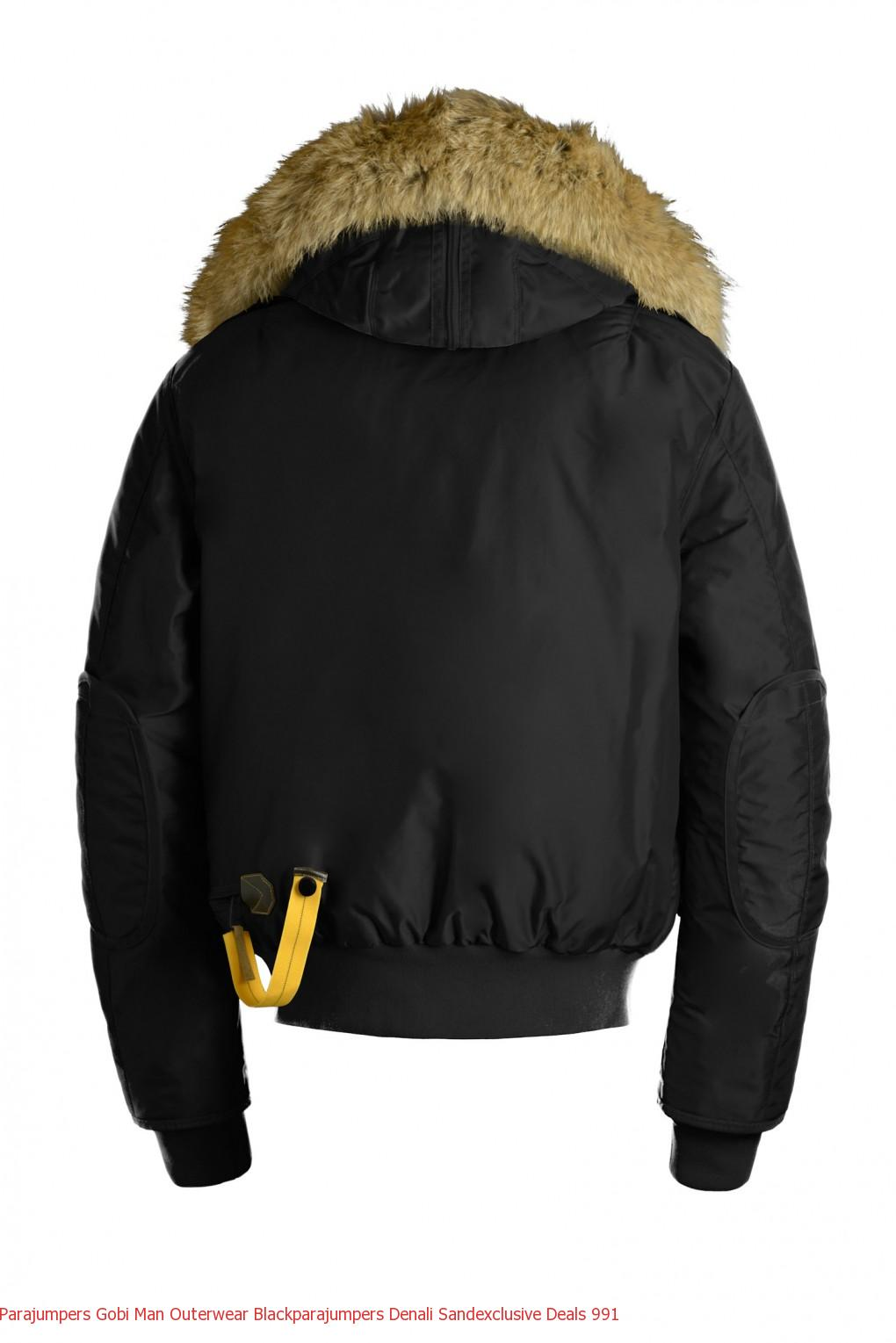 Parajumpers Gobi Man Outerwear Blackparajumpers Denali Sandexclusive Deals 992