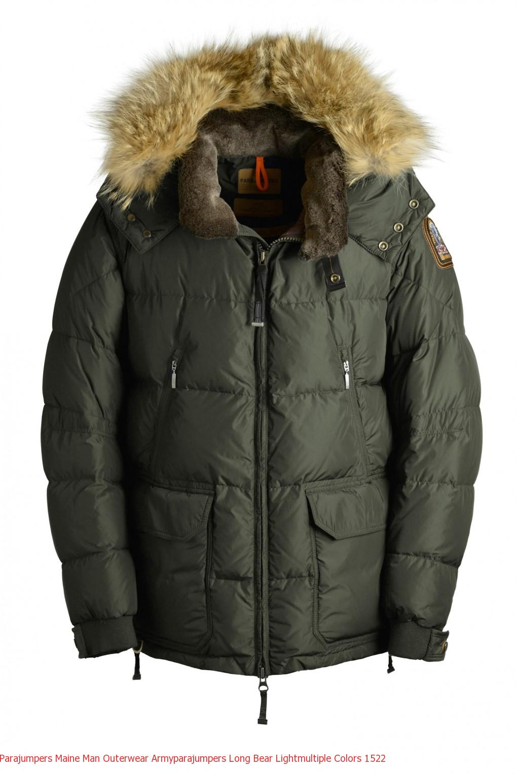 e750bd9d588f Canada Goose Clothing Outlet Parajumpers MAINE Man Outerwear Army ...