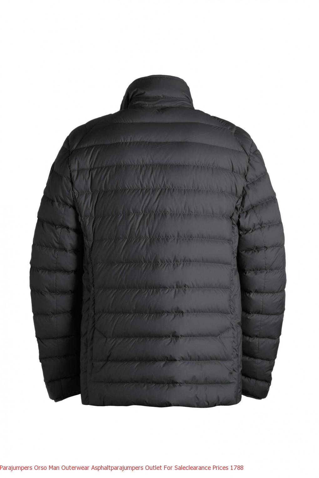 Parajumpers Orso Man Outerwear Asphaltparajumpers Outlet For Saleclearance Prices 1790