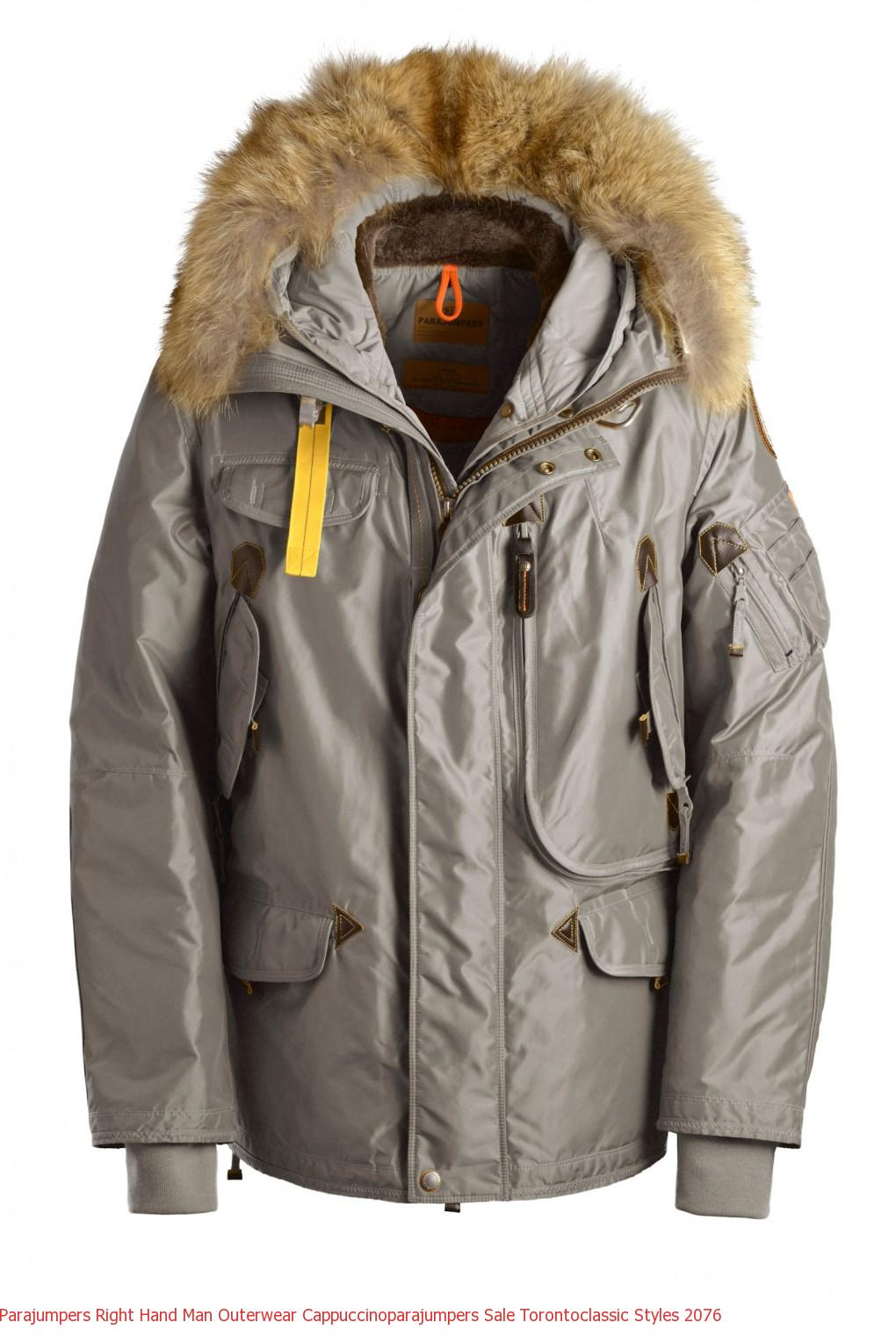 the best attitude 3e285 fd86b Canada Goose Outlet Herren Parajumpers RIGHT HAND Man Outerwear Cappuccino
