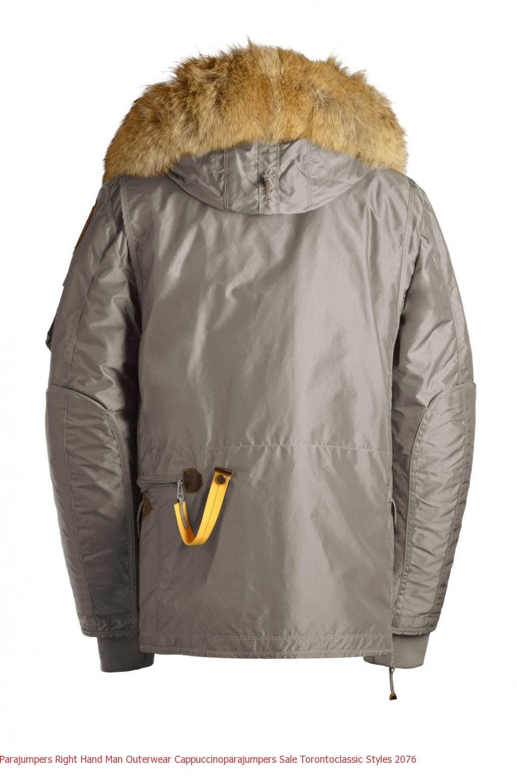 Parajumpers Right Hand Man Outerwear Cappuccinoparajumpers Sale Torontoclassic Styles 2077